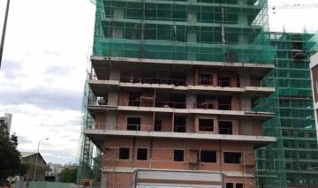 Dự án căn hộ Monarchy đã đổ sàn bê tông đến tầng 18 - Tiến độ nhanh chóng ,tạo niềm tin vững chắc