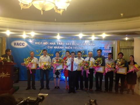 Hiệp hội nhà thầu xây dựng Việt Nam - CN Miền Trung