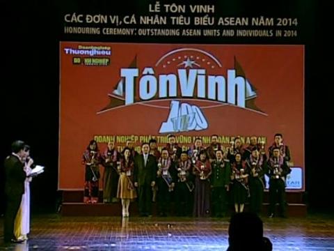Lể Tôn Vinh Các Đơn Vị Cá Nhân Tiêu Biểu Asean Việt - Lào - Campuchia