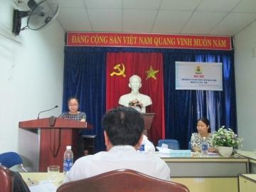 Đại hội công đoàn ngày 26/4/2014.