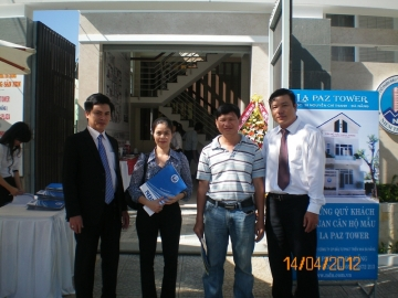 NDN: Ngày 14/4/2012 khai trương căn hộ mẫu dự án La Paz