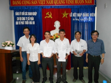 Lễ kết nạp Đảng viên ngày 30/3/2012